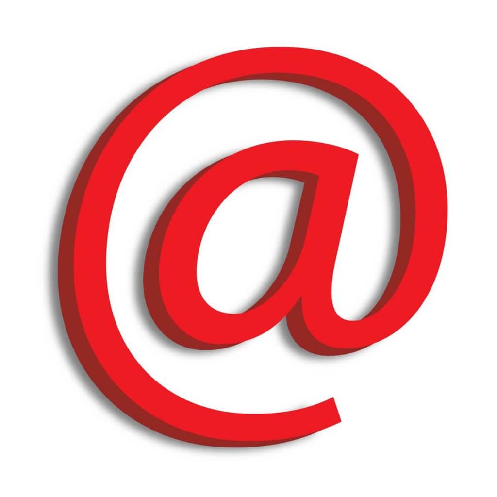 email opvallend origineel zakelijk professioneel