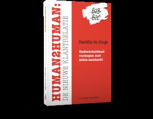 Human2human de nieuwe klantrelatie boek Danielle de Jonge