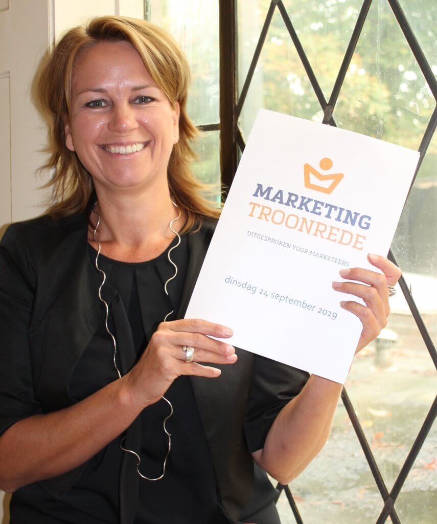 MarketingTroonrede 2019 september Danielle de Jonge