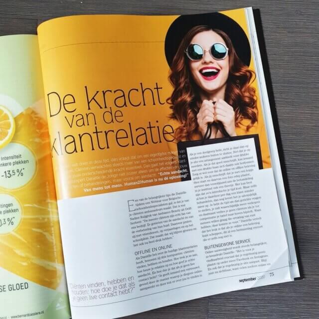 Esthe Magazine interview klantgerichtheid schoonheidsspecialisten