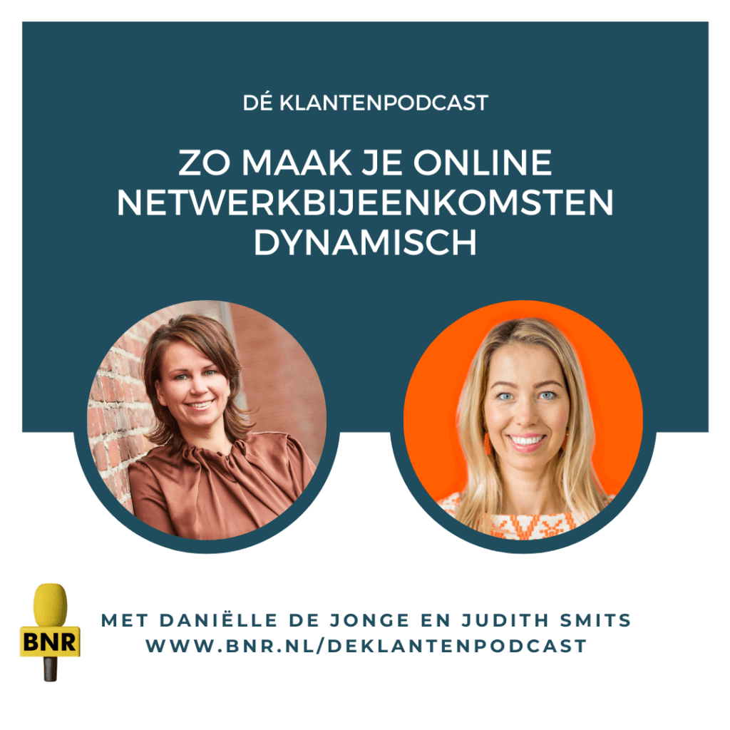 Klantenpodcast online netwerkbijeenkomsten dynamisch