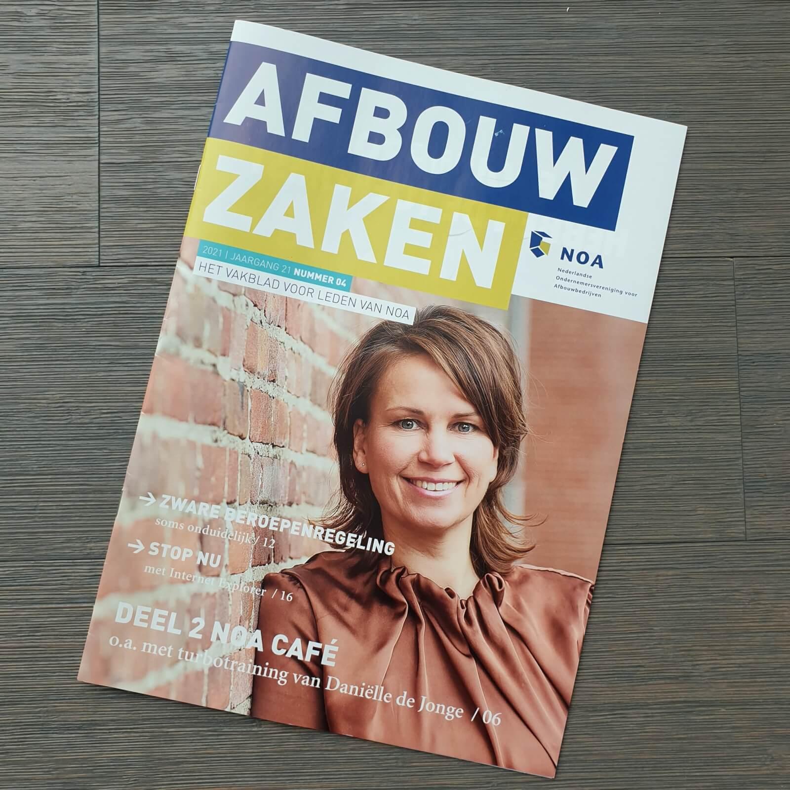 NOA Afbouw cover presentaties NOA Cafe