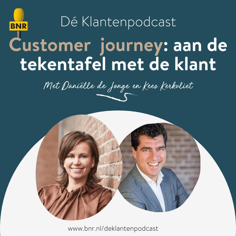 Dé Klantenpodcast - customer journey