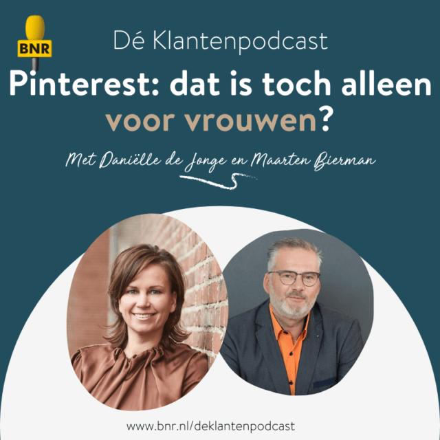Dé Klantenpodcast - pinterest