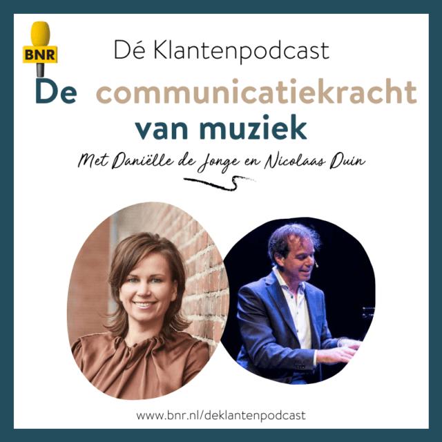 Dé Klantenpodcast - klantgerichte communicatiekracht van muziek